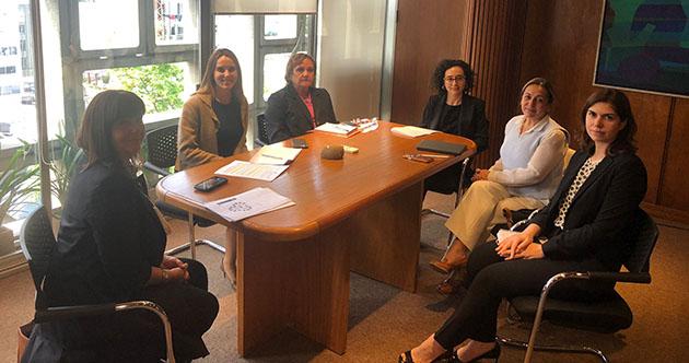 Reunión con MRREE por SheTrades Uruguay